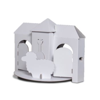 TikTak Colour-In Playhouse Small (Tablemodel)
