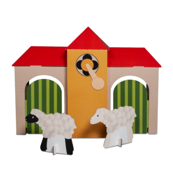 TikTak Printed Playhouse Large (Floormodel)