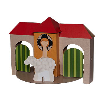 TikTak Printed Playhouse Small (Tablemodel)