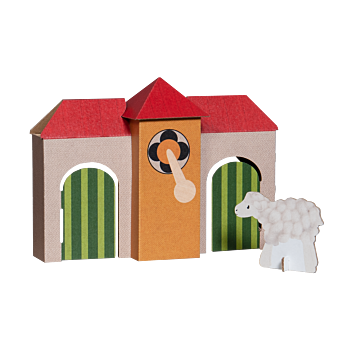 TikTak Printed Playhouse Small